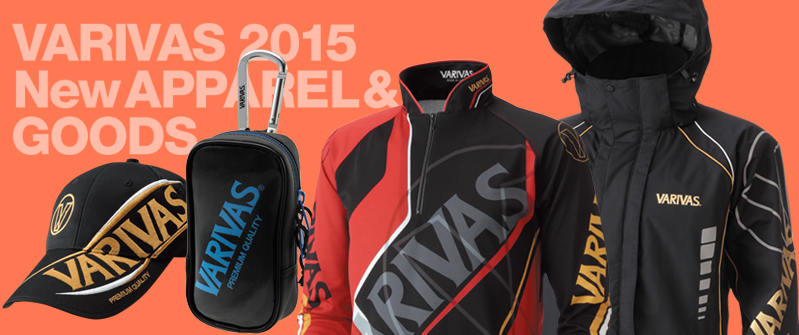 VARIVAS 2015 New APPAREL & GOODS