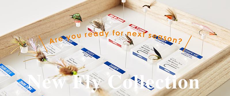 巻きたくなるHOOK -New Fly Collection-