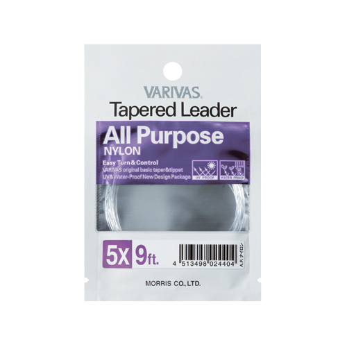 Tapered Leader [All Purpose Nylon]