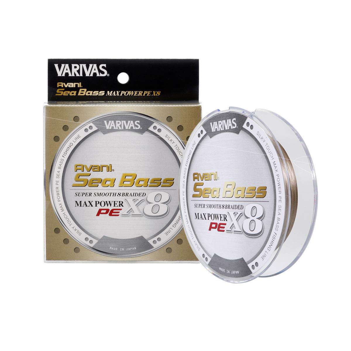 16.5//100 150 Varivas Tresse Avani Seabass LS8-150M Green