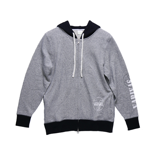 Combination Full Zip Hoodie [VAT-37]