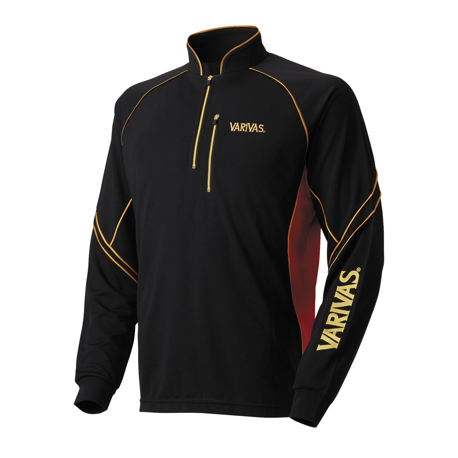 COOLMAX Zip Shirts Long Sleeve [VAZS-19]VAZS-19