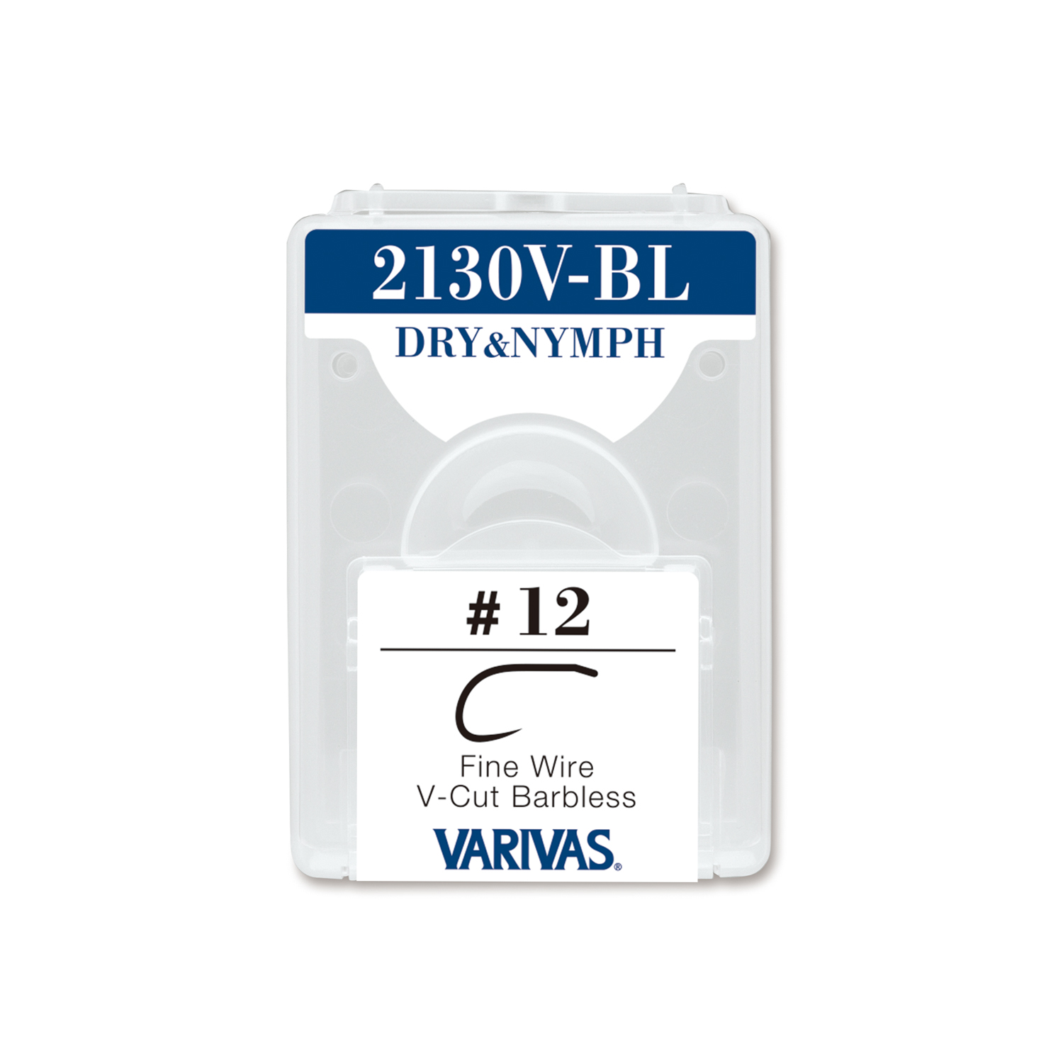 2130V-BL DRY&NYMPHFine Wire V-Cut Barbless