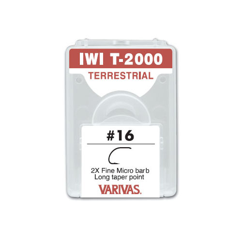 IWI T-2000 TERRESTRIAL2X Fine Micro barb Long taper point