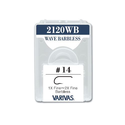 2120WB WAVE BARBLESS1X Fine~2X Fine Barbless